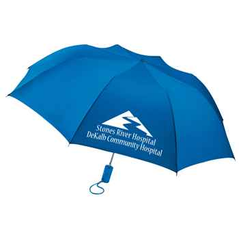 Barrister Auto Open Folding Umbrella - Personalization Available
