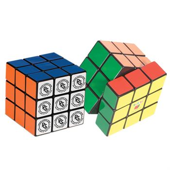 Rubik's® 9-Panel Full Stock Cube - Personalization Available
