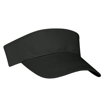 100% Cotton Twill Visor Adjustable Velcro® Strap Closure - Personalization Available