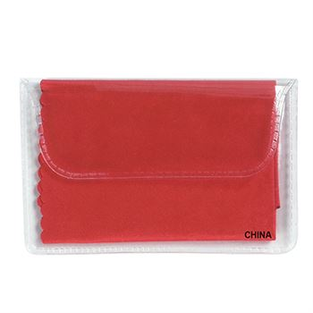 Microfiber Cleaning Cloth In Case - Personalization Available