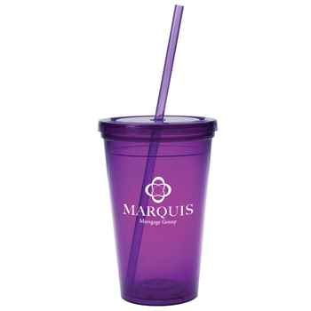 Sunsplash Double-Wall Tumbler 16-Oz. - Personalization Available