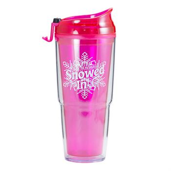 Dual Double Wall Acrylic Tumbler 16-oz. - Personalization Available