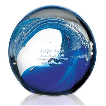 Wave Award - Personalization Available
