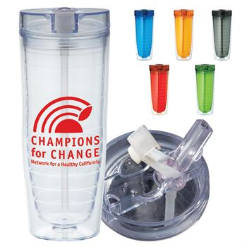 Hot & Cold Flip N Sip Vortex Tumbler 20-oz. - Personalization Available