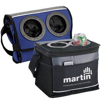 12-Can Drink Pocket Cooler - Personalization Available