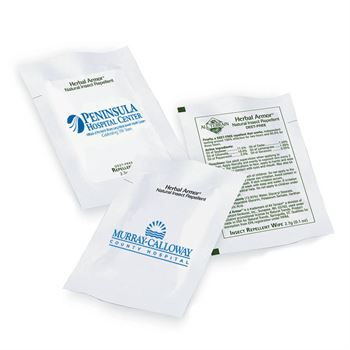 Insect Repellent Wipes - Non-Personalized