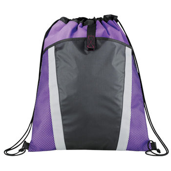 The Vortex Drawstring Cinch Backpack - Personalization Available
