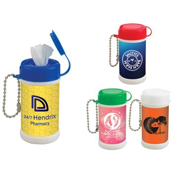Pocket Size Wet Wipe Canister - Personalization Available