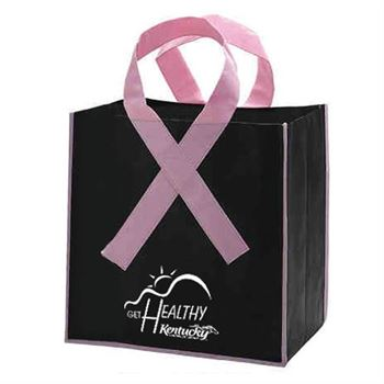 RIBBON SHOPPER TOTE - Rectangle