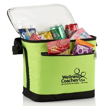 Large Vertical 12-16 Can Cooler Bag - Personalization Available