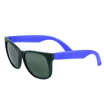 Adult Sized Two-Tone Matte Ultraviolet Protected Sunglasses - Personalization Available