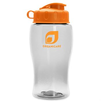 18 Oz. Junior Sports Bottle With Flip Top Lid - Personalization Available