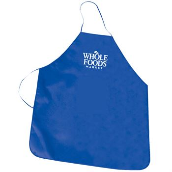 Non Woven Eco-Friendly Pink Promotional Apron - Personalization Available