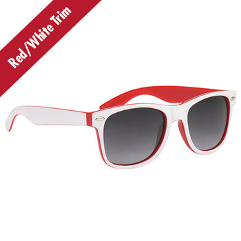 Two-Tone Sunglasses - Personalization Available