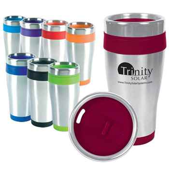 16-Oz Blue Monday Travel Tumbler - Personalization Available