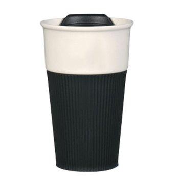 Ceramic 13-oz. Tumbler With Silicone Grip