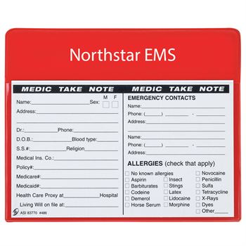 Medic Take Note Magnet - Personalization Available