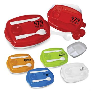 Locking Lid Lunch Tray