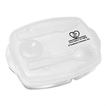 Locking Lid Lunch Tray - Personalization Available