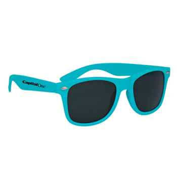 Matte Polycarbonate UV400 Sunglasses - Personalization Available
