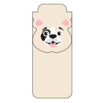 """PAWS""itive Pals Magnetic Bookmark - Personalization Available"