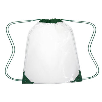 Clear Drawstring Backpack