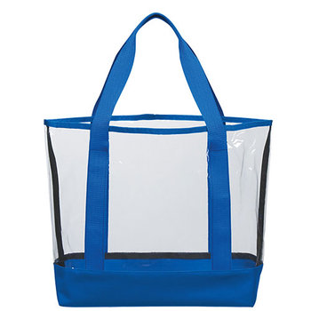 Clear Casual Tote Bag - Personalization Available