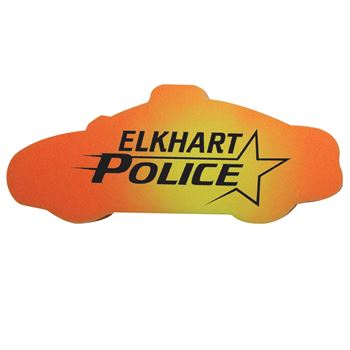 Police Car Die-Cut Mood Erasers - Personalization Available