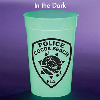 17-Oz. Glow In The Dark Stadium Cup - Personalization Available