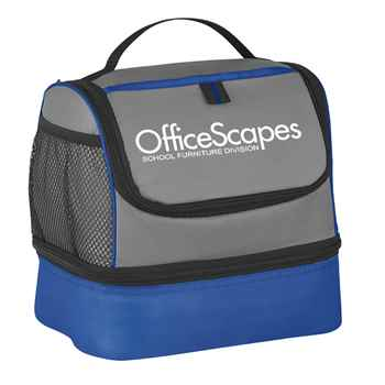 Bayport Dual Compartment Lunch Bag - Personalization Available