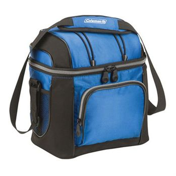 "Coleman® 9-Can Soft-Sided Cooler With 41"" Adjustable Shoulder Strap  - Personalization Available"
