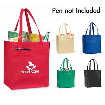 100% Recyclable Deluxe Grocery Shopper - Personalization Available