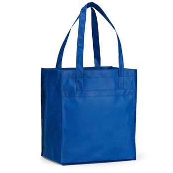 100% Recyclable Deluxe Grocery Shopper With Large Main Compartment - Personalization Available