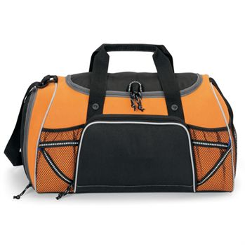 Verve Sport Bag With Top Grab Handles & Front Mesh Pockets - Personalization Available