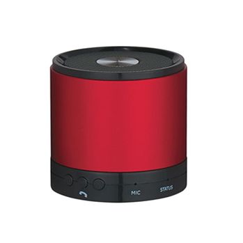 Round Bluetooth 3.0 Speaker & Built-In Mic - Personalization Available
