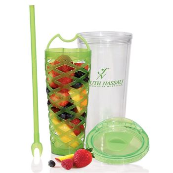 Fruit Basket Infuser Bottle 20-oz. - Personalization Available