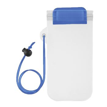 Waterproof Phone Pouch With Cord - Personalization Available
