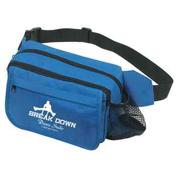 Happy Travels Fanny Pack - Personalization Available