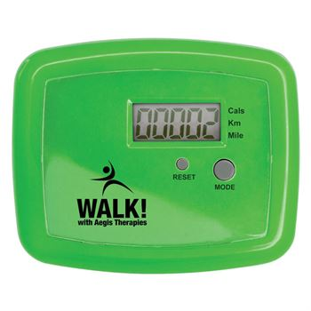 Rock 'N' Walk Pedometer With Earbuds - Personalization Available
