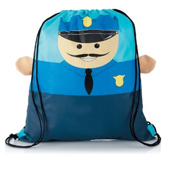 Hometown Helpers Drawstring Backpack - Personalization Available