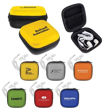 Two-Tone Ear Bud Set - Personalization Available