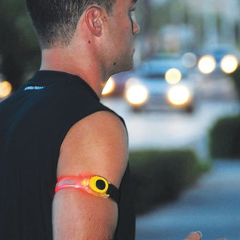 Safety Light Arm Band - Personalization Available