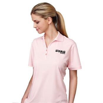 Women's Moreno Short Sleeve Polo Shirt - Embroidery Personalization Available