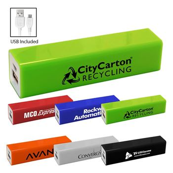 UL® Color Block Power Bank - Personalization Available
