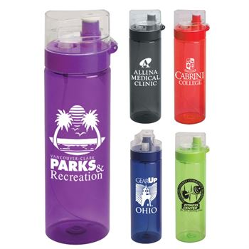 Mist Spritzer Water Bottle 26-oz. - Personalization Available