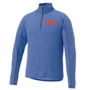 Elevate® Men's Taza Knit Quarter Zip - Embroidery Personalization Available