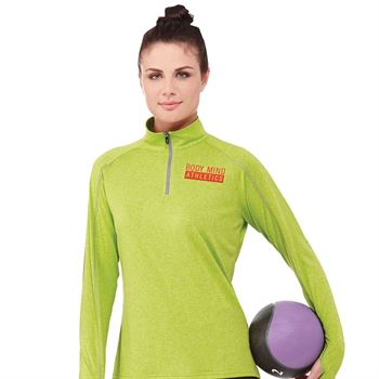 Elevate® Women's Taza Knit Quarter Zip - Embroidery Personalization Available