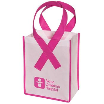Small Awareness Tote Bag - Personalization Available