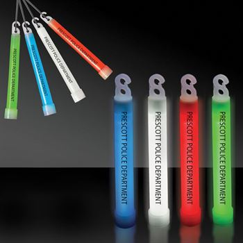 Premium 4 Inch Glow Sticks - Personalization Available