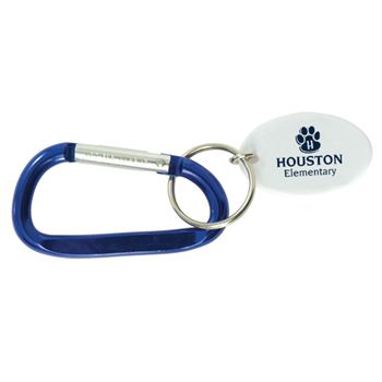 Small Carabiner Key Tag - Personalization Available